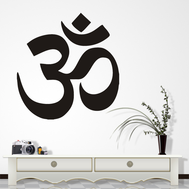 AUM Om Symbol Hinduism Spiritual Wall Car Decal Sticker High Quality Factory Sale Directly stickers Muraux  sc 1 st  AliExpress.com & AUM Om Symbol Hinduism Spiritual Wall Car Decal Sticker High Quality ...