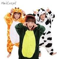 Kids Kigurumi Anime Pajamas Pokemon Cosplay Costumes Children Animals Onesies Halloween Carnival Party Fancy Unicorn Sleepsuit