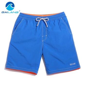 Gailang Brand Male beach shorts bermuda masculina Men quick drying shorts Man new shorts Swimwear Swimsuits