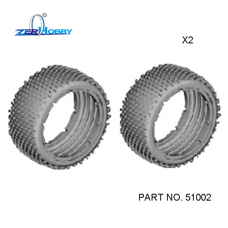 HSP RC CAR TOYS PARTS ACCESSORIES RUBBER TIRES FOR HSP 1/5 OFF ROAD REMOTE CONTROL BAJA 94054 AND BUGGY 94059 (PART NO. 51002) hsp racing spare parts accessories 54001 chassis for 1 5 gas powered 4x4 off road buggy baja 94054 94054 4wd