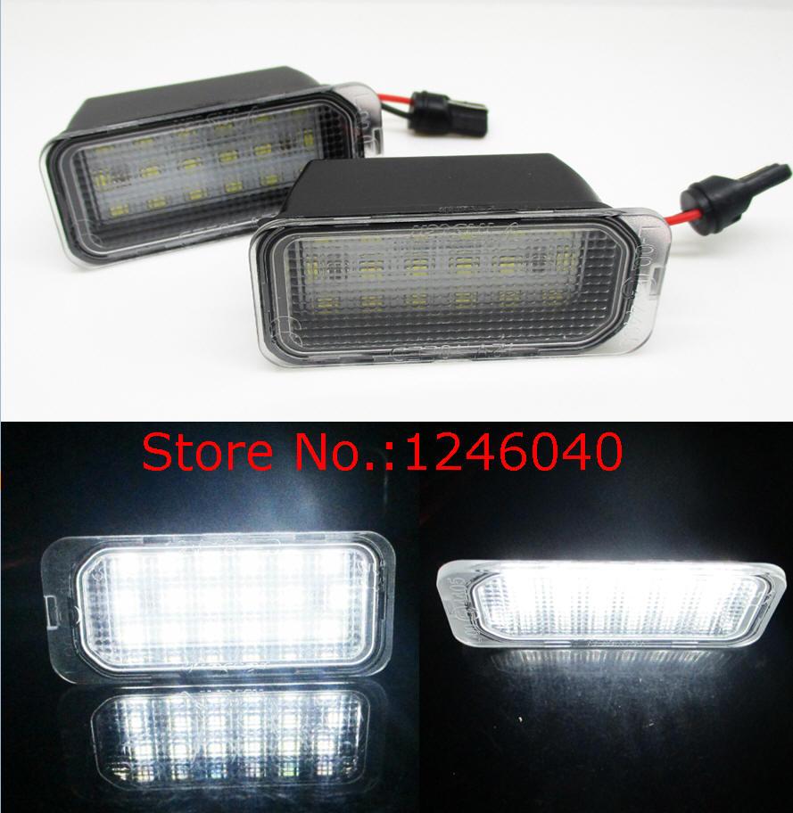 Us 988 2 Sztuk Led Oświetlenie Tablicy Rejestracyjnej Licencji Lampa Dla Ford Fiesta Ja8 Skupić Się Da3 Dyb S Max Grand C Max Mondeo Ba7 Kuga 08