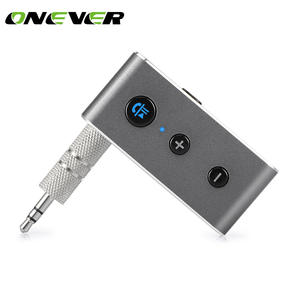 Onever Wireless Bluetooth Aux Audio Receiver Adapter Handsfree Car Kit