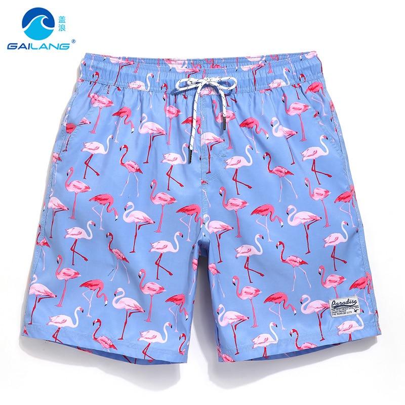 זוג מכנסיים קצרים לוח שחייה בגד ים אניה רצים לרוץ זיעה בגד ים חוף גלישה sportshort ספורט כושר בתוספת ברמודות
