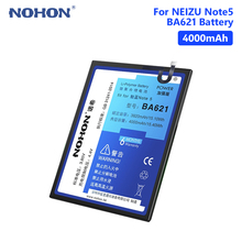 NOHON BA621 Battery For Meizu M5 Note Note 5 4000mAh Real Lithium Rechargeable Phone Bateria Batteries Free Tools Retail Package цена и фото