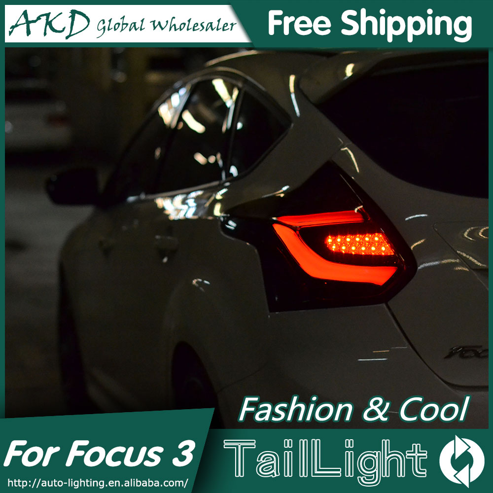akd car styling led tail lamp for ford focus tail lights focus 3 hatch back led tail light rear. Black Bedroom Furniture Sets. Home Design Ideas