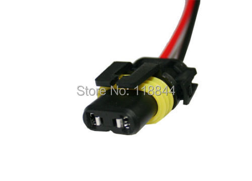 2pcs 5202 h16 2504 psx24w power cord wire harness for hid ballast 2pcs 5202 h16 2504 psx24w power cord wire harness for hid ballast to stock socket for hid conversion kit for vw toyota hyundai in headlight bulbs from