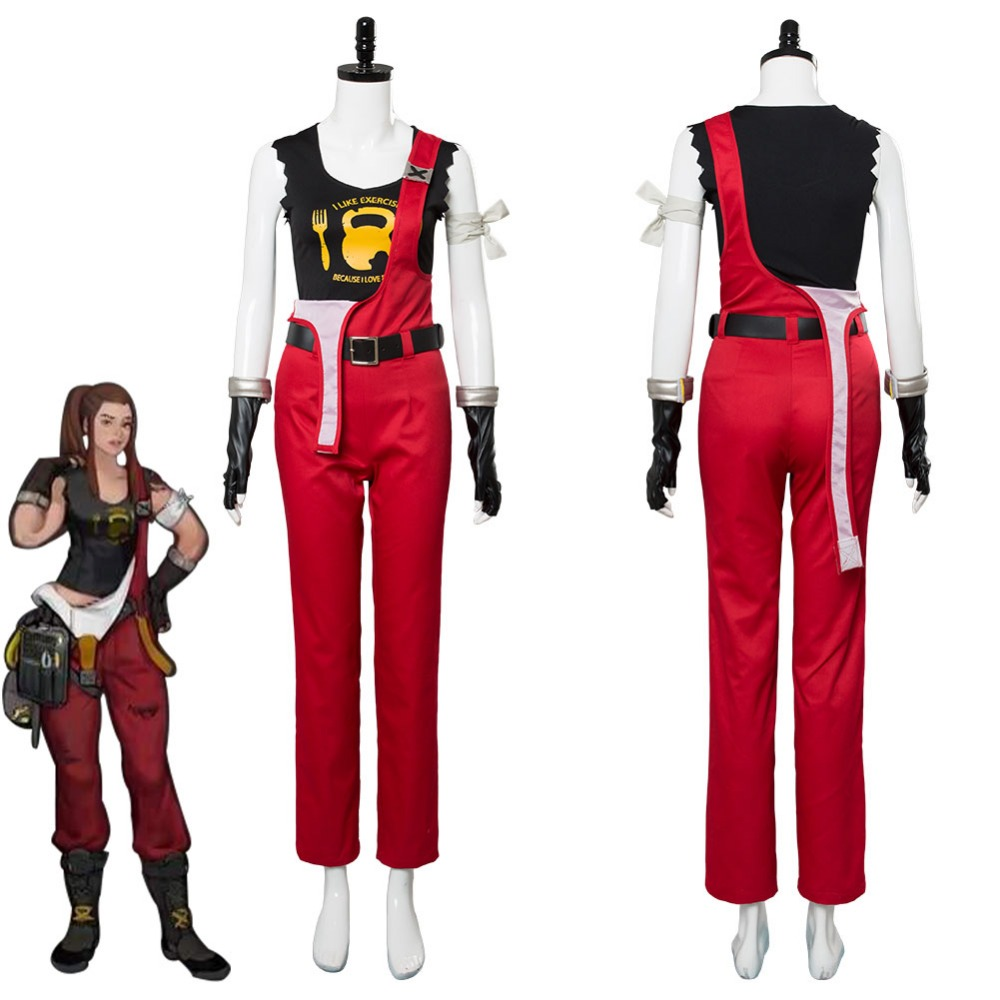 OW Cosplay Costume Brigitte Lindholm Cosplay Costume Adult Women Halloween Carnival Costumes