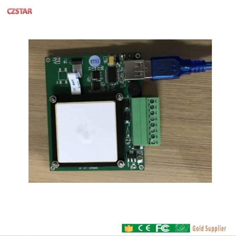 10cs Free Dhl Shipping PR9200 Desktop USB UHF RFID Reader Writer 5cm-3m Long Rangeintegrated Uhf RFID Module Reader Free SDK