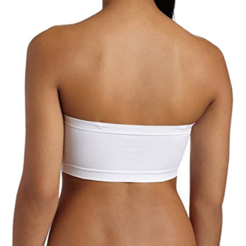 3c406281f3b 1pc Women Sexy Solid Tube Top Plus Size Sexy Lingerie Strapless Boob Women  Bra Basic Solid Color Women Underwear Strapless Tops-in Tube Tops from  Underwear ...