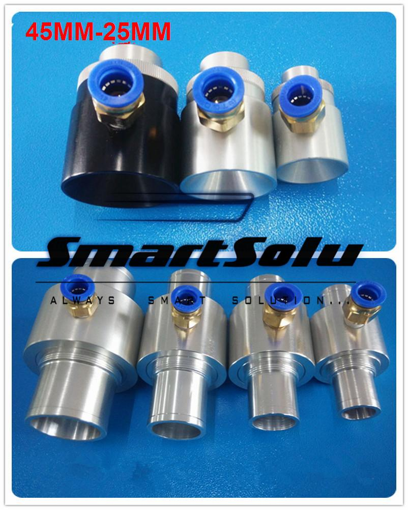 Free shipping Aluminum Alloy 45MM-25MM pneumatic conveyor pneumatic feeder yamaha pneumatic cl 16mm feeder kw1 m3200 10x feeder for smt chip mounter pick and place machine spare parts