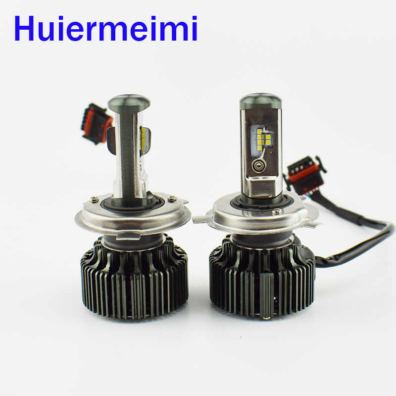 2pcs Car Headlight Bulb Cree LED chip 12V 24V 80W Hi Lo Beam Automotive head Light Lamp Auto headlamps H11 H4 H7 9005 9006 H1 H3