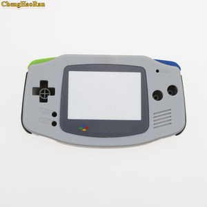 Image 3 - ChengHaoRan 1set Grey For Gameboy Advance  Plastic Shell Case Housing w Screen For GBA case Cover with screwdriver