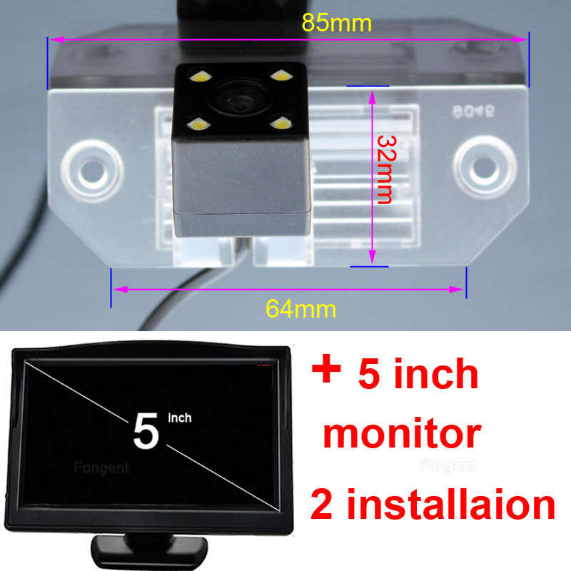 Dla Ford Focus Sedan 2 3 2008-2012 c-max C Max Mondeo widok z tyłu samochodu Parking tylna kamera bezprzewodowa Monitor DVD GPS AV