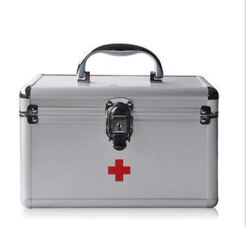 Yf110 --- 9 дюймов b016-5 Алюминий сплав Сейф бытовые медицинские Домашняя аптечка Box