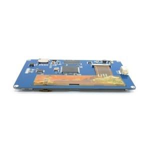 "Image 4 - 5.0 ""Nextion Hmi Intelligente Smart Usart Uart Seriële Touch Tft Lcd Module Display Voor Raspberry Pi 2 Een + B + Ard Kits"
