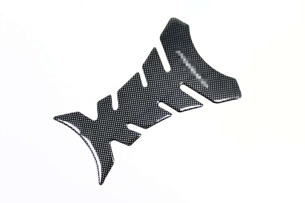 Motorcycle 3D Carbon Fiber Motorcycle Gel Oil Gas Fuel Tank Pad Protector Sticker Decal Fit Motorcycle