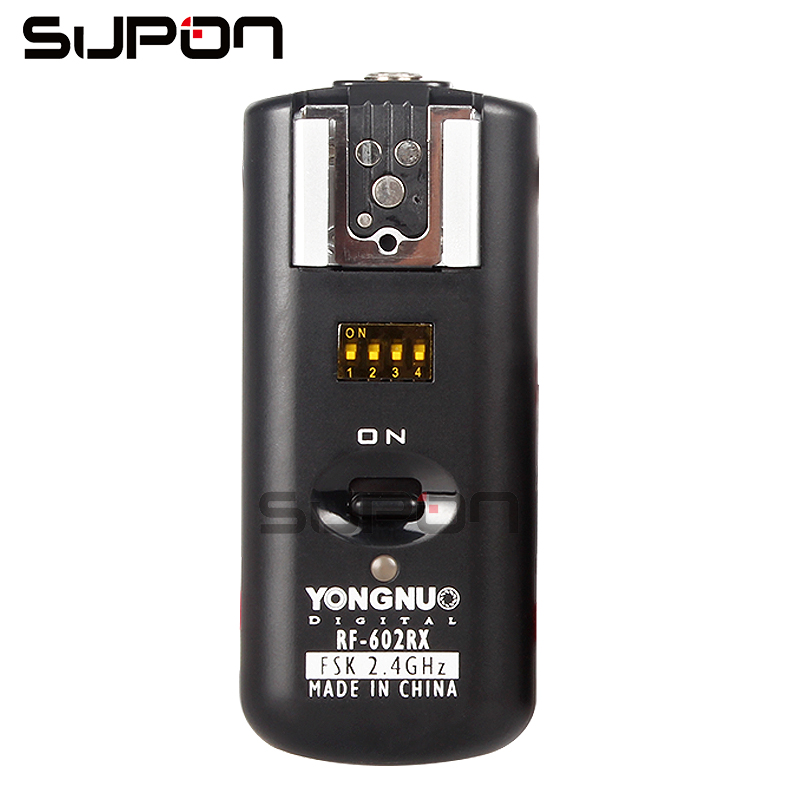 YONGNUO RF 602 2 4GHz Flash Wireless Receiver for Canon Nikon Camea DSLR