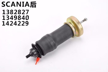 2 pieces for Scania Cab Suspension Rear Air Spring Truck Rubber Air Shock Absorber 1382827 1349840