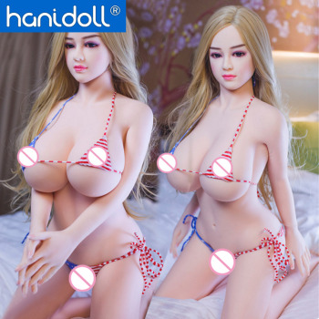 Hanidoll 140cm Big Breast Silicone Sex Dolls Real Ass Pussy Realistic Life Size Vagina Big Butts Love Doll Adult Toys Male