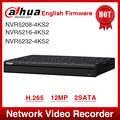 Ekspresowa wysyłka Dahua NVR5208-4KS2 NVR5216-4KS2 NVR5232-4KS2 16/32CH 1U 4K i H.265 Pro sieciowy rejestrator wideo 12MP Full HD 2SATA