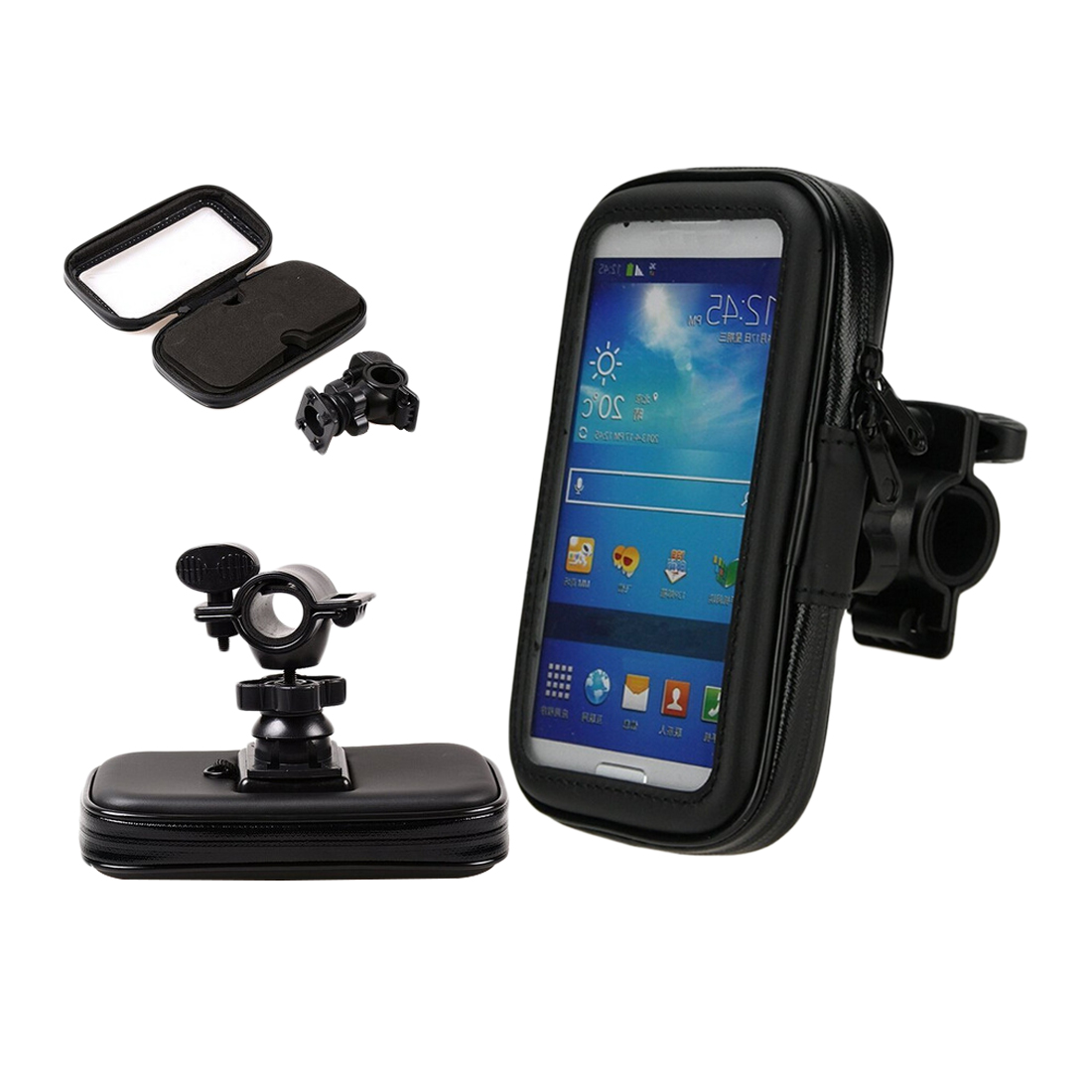 Dewtreetali Motorcycle Phone Holder For Samsung Galaxy S7 S6 Edge S8 G530 A5 A7 J5 J3 Support Mobile holder Stand Waterproof