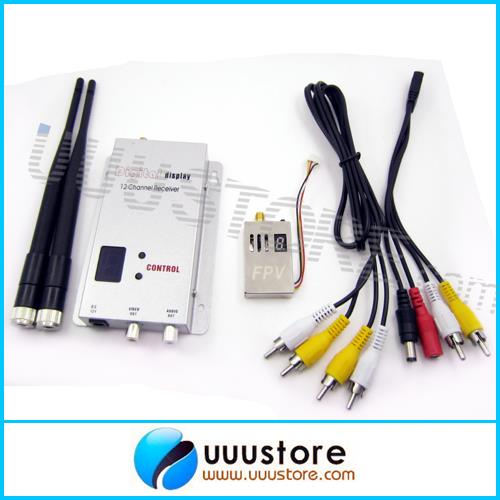 Long-distance video transmission system 1.2Ghz 1.3Ghz 1000mW 4Channel Wireless Transmitter and 12 Channel Receiver Kit new restaurant equipment wireless buzzer calling system 25pcs table bell with 4 waiter pager receiver