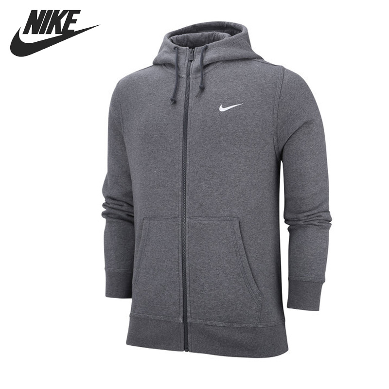 Original New Arrival NIKE CLUB FZ HOODY SWOOSH-N Men's Jacket Hooded Sportswear боди ewa цвет розовый серый