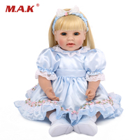 50CM Lovely and Realistic Soft Silicone Baby Dolls with Clothes Girls Gifts Toys