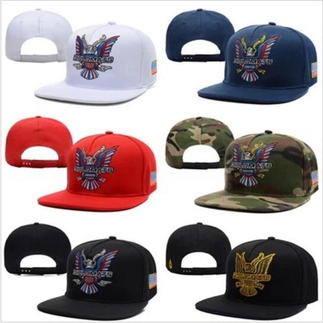 Dipset U.S.A Diplomats Eagle Snapbacks cap White camo black red men and  women classics sports hats 7561818b7fa
