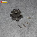 STAR GEAR WITH 4 PINS FOR JIANSHE ATV 250-3-5 OR LONCIN ATV 250-F THE PARTS IN RED CIRCLE NO. 3 AND 4 PARTS CODE IS FG-500751-0
