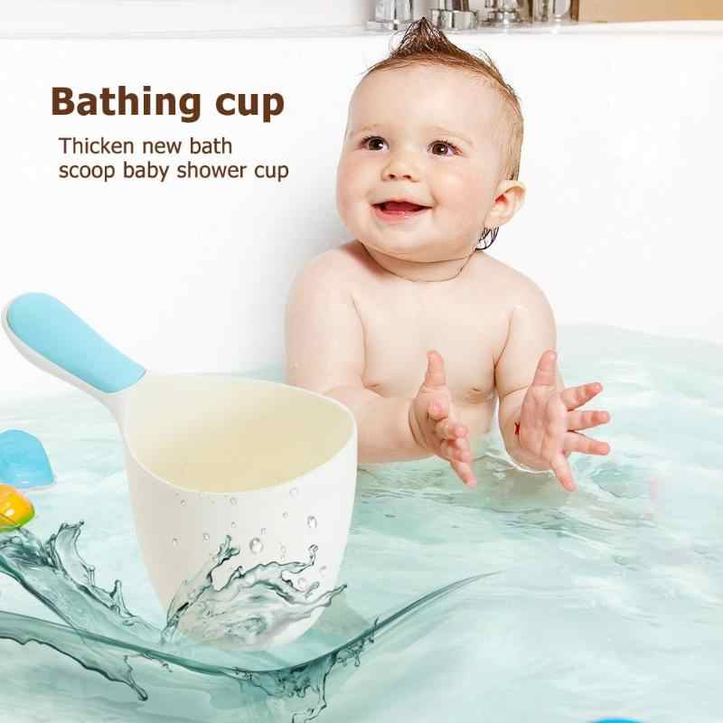 Thicken Baby Bath Water Ladle Scoop Child Wash Hair Shampoo Rinse Cup