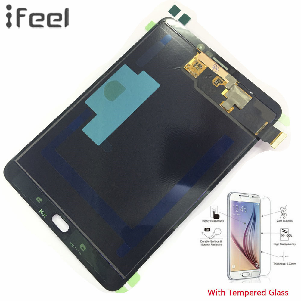 IFEEL 100% Tested Assembly Panel Repair For Samsung GALAXY Tab S2 8.0 2015 T710 WiFi T715 3G LCD Display Touch Screen DigitizerIFEEL 100% Tested Assembly Panel Repair For Samsung GALAXY Tab S2 8.0 2015 T710 WiFi T715 3G LCD Display Touch Screen Digitizer
