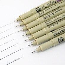 markers drawing pen Sakura Pigma Micron Needle Pen Liner Brush (Paper mark waterproof) Writing Supplies Tubular technical pen