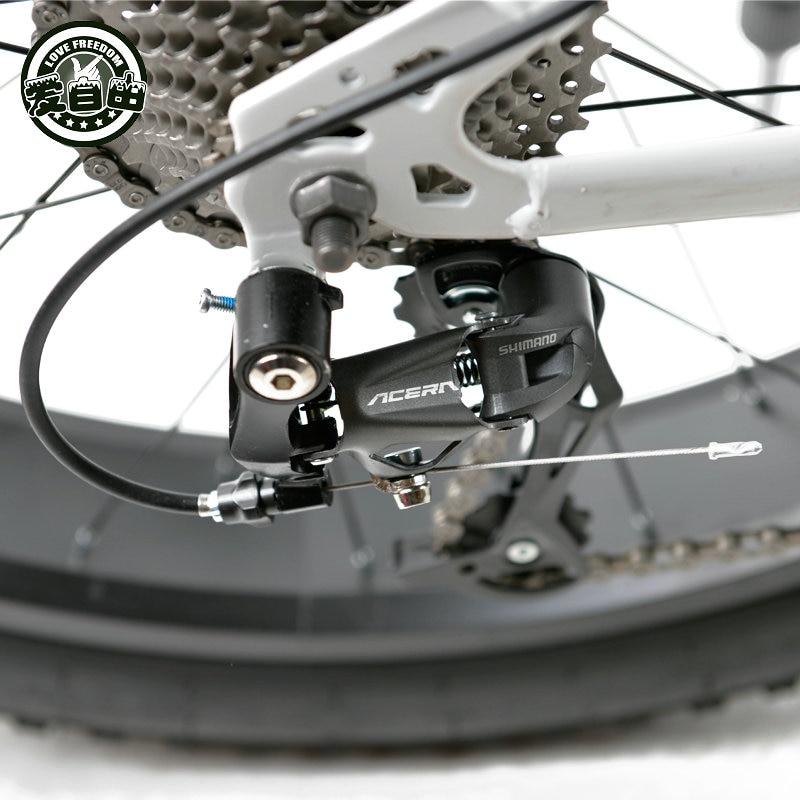 Bicicleta de montaña Love Freedom 7 velocidades, 21 velocidades .24 - Ciclismo - foto 5