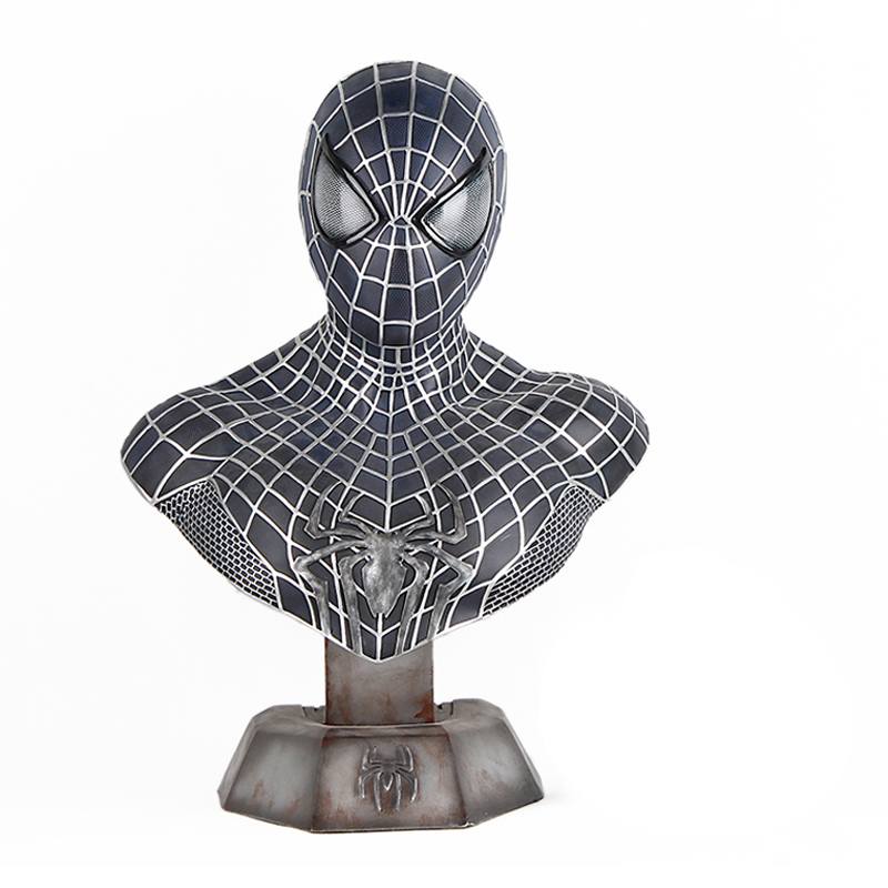 High Quality 1:1 Scale Captain America 3 III Civil War Spider-Man Bust Statue (LIFE SIZE) resin model universe captain america civil war black panther resin bust 1 2 statue wu570