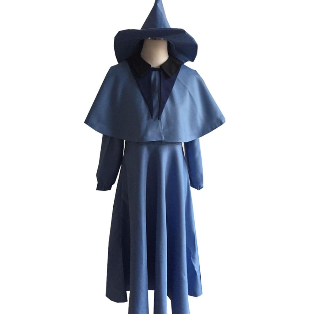 2018 Fleur Delacour Cosplay Costume comprennent chapeau film costume anime costume