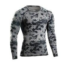 NEW Man Tshirt Long Sleeve Compression Fitness font b Men b font Tee Shirt Homme Body