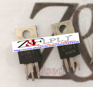 Image 2 - C1971  NPN SILICON RF POWER TRANSISTOR / Type No. 2SC1971 (Used ,Short PIN)  50PCS/LOT
