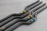 2017 Bmx Bike Handle Bar 700 Mm Folding Bike Accessories 4 Color ASIACOM Full Carbon Handlebar