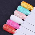 BORN PRETTY Holo Glitter Powder 1 Box 8 Colors Ultrafine Rose Red Brown 0.1mm 0.5mm 0.3mm Round Ultrafine Nail Glitter Dust