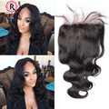 5x5 Lace Closure Malaysian Body Wave Closure Human Hair Lace Closure With With Baby Hair Bleached Knots 7A Lace Top Closure