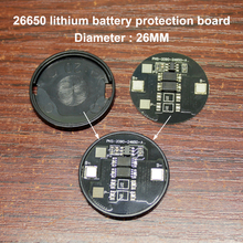 1set/lot 26650 lithium battery protection board 3.7V anti-overcharge and over discharge for 1 string polymer battery battery anti over discharge controller with time delay over protection board low voltage off load and alarm
