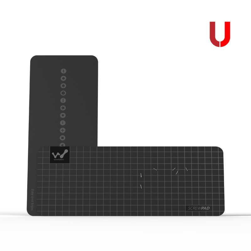 Xiaomi mijia wowstick wowpad magnetyczna Screwpad, stanowisko służbowe śruba pamięci podkładka pod talerz precyzyjne narzędzie do naprawy części dla zestaw śrubokrętów
