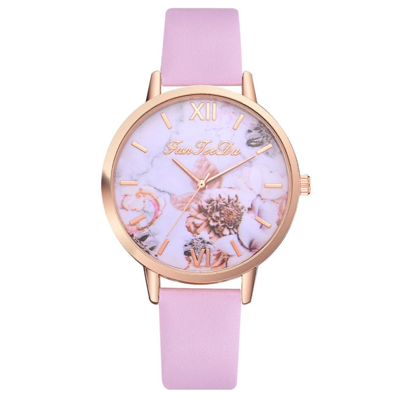 Woman Clock Stainless Steel Simple Business Leather Fashion Causal Dress Watch Women Quartz Watch Bracelet Watches Brand M3