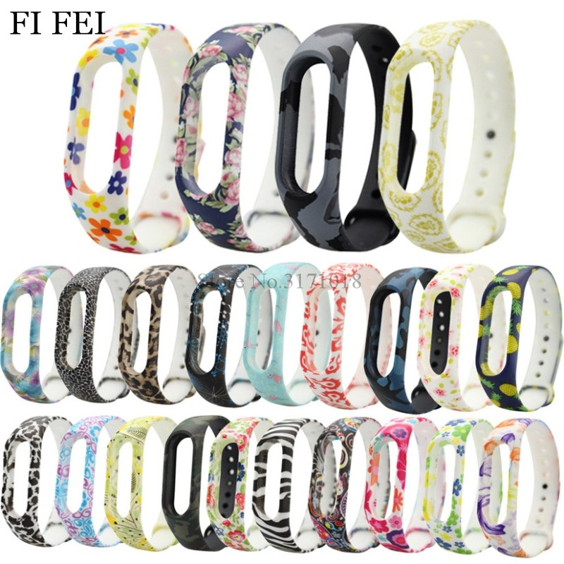 FI FEI Replacement Silicone Wristband Watch Band Strap For Xiaomi Mi Band 2 Miband 2 Watchband Silica gel Strap Fitness Bracelet luxury silicone watch replacement band strap for samsung gear fit 2 sm r360 wristband 100