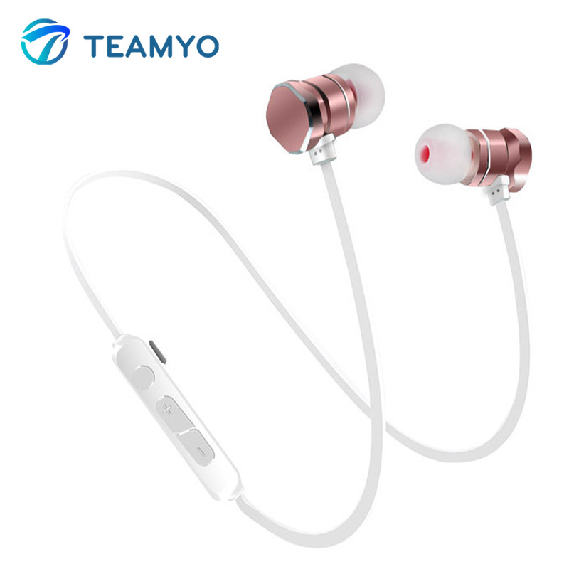 Teamyo Newest X3 Wireless Bluetooth Earphone Outdoor Sport Headset With Mic Headphone For IPhone Xiaomi Samsung Mp3 Earbuds