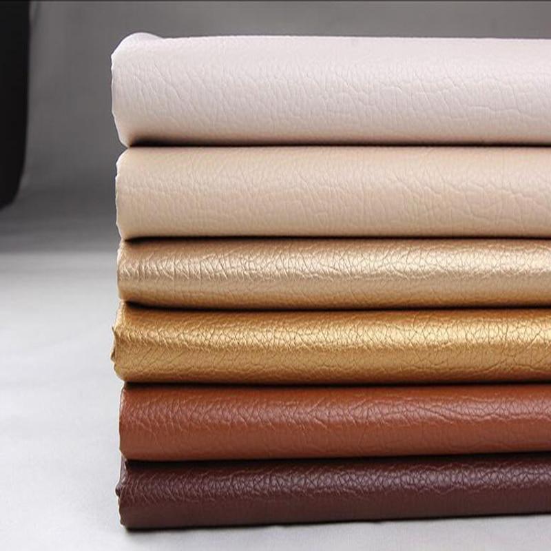decorativas Velvet 2 x 50 x 140 piel sintética plata Paquete de tela bolsos de tela