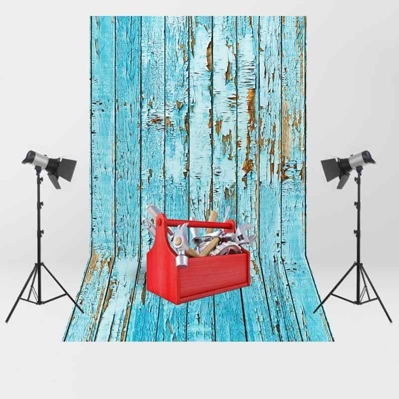 ALLOYSEED 5 Size Retro Wooden Plank Pattern Photography Background Studio Photo Backdrop Baby Photography Backgrounds Cloth Prop