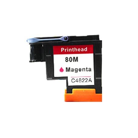 Einkshop 1Pcs compatible Magenta Printhead replacement For HP 80 Designjet 1000 1050c 1055cm Printer CA4820A 1pcs ca4820a black printhead for hp 80 designjet 1000 1050c 1055cm printer