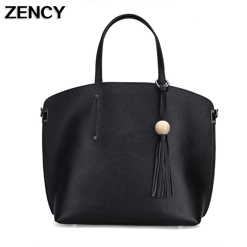 ZENCY 2017 New Real Leather Handbags Genuine Leather Women Crossbody Bag Ladies Tote Bag Real Leather Designer Lady Bags Female genuine real cow leather female handbags women shoulder bags purple lady small tote bag red logo designer patent bag 2017 new